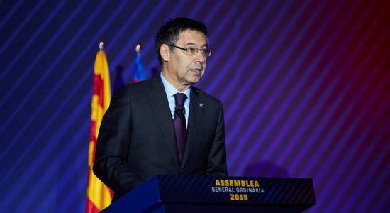 Ex-presidente do Barcelona, Josep Maria Bartomeu foi preso nesta segunda-feira
