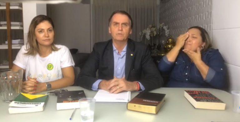 Bolsonaro em live