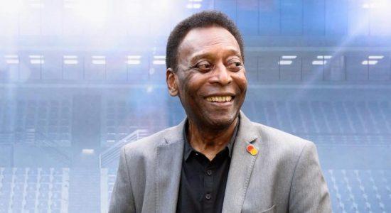 Pelé foi homenageado pela Fifa por conta do aniversário de 80 anos