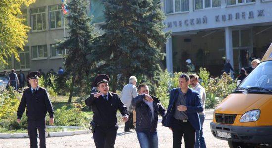 Explosão de bomba em faculdade deixa mortos na Crimeia