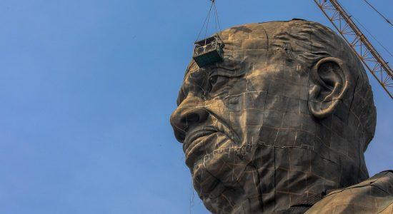 Estátua foi concluída nesta sexta-feira