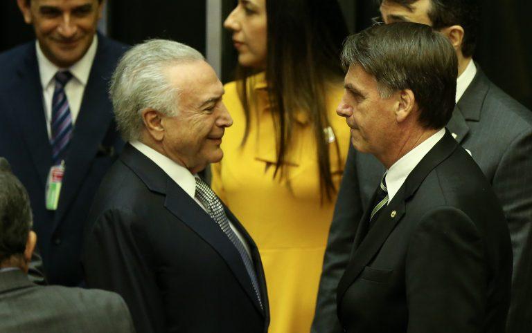 Bolsonaro participa de sessão solene dos 30 anos da Constituição