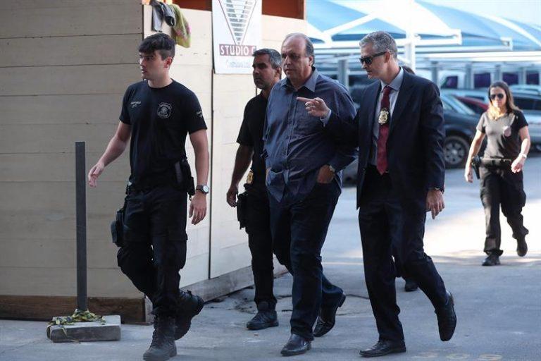 Luiz Fernando Pezão é preso pela Polícia Federal