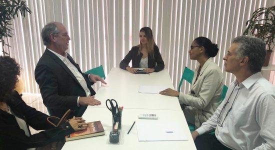Ciro Gomes e Marina Silva