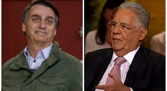 Jair Bolsonaro e FHC