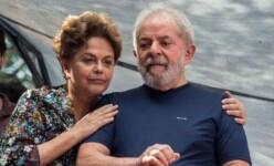 Ex-presidente Dilma e ex-presidente Lula