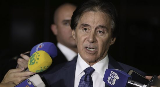 Eunício Oliveira, presidente do Senado Federal