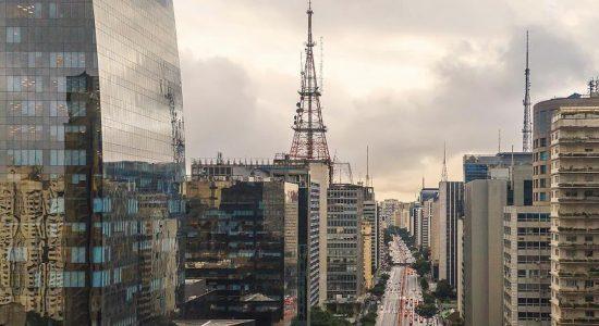 A cidade de São Paulo
