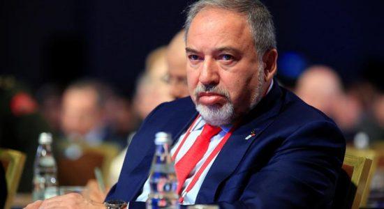 Avigdor Lieberman, ministro da Defesa de Israel