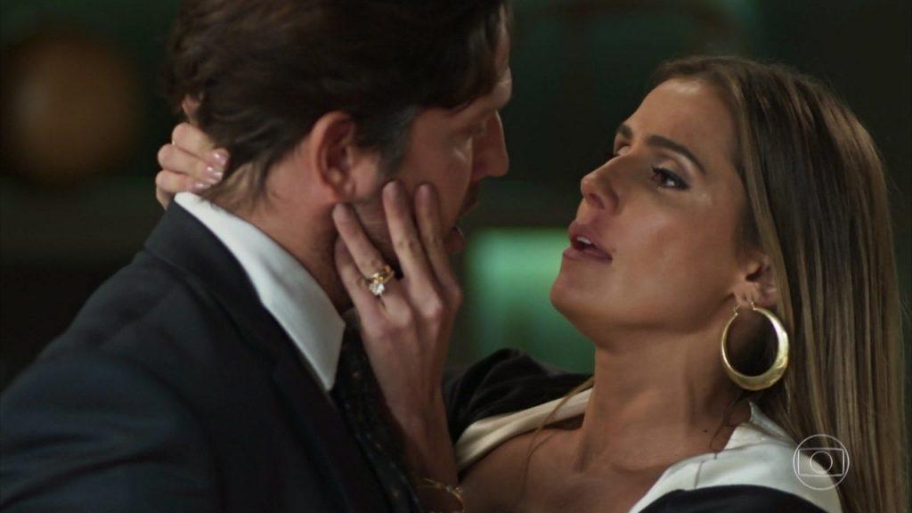 Karola e Remy, personagens da novela Segundo Sol, tem relação incestuosa Foto: Reprodução/TV Globo