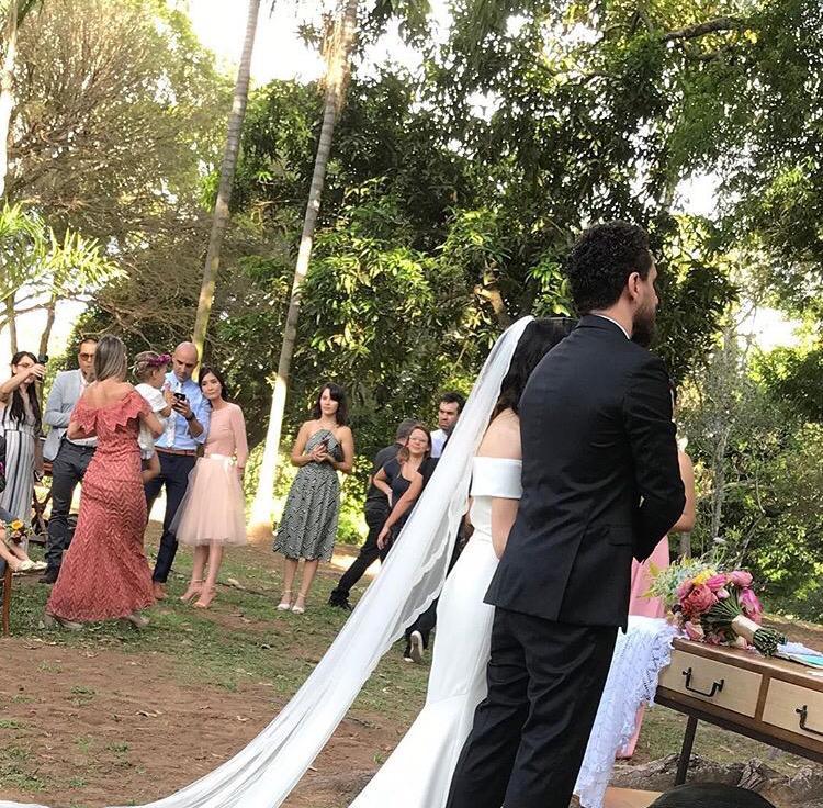Leonardo Gonçalves casou com Glauce Cunha, apresentadora do programa Caixa de Música, da TV Novo Tempo