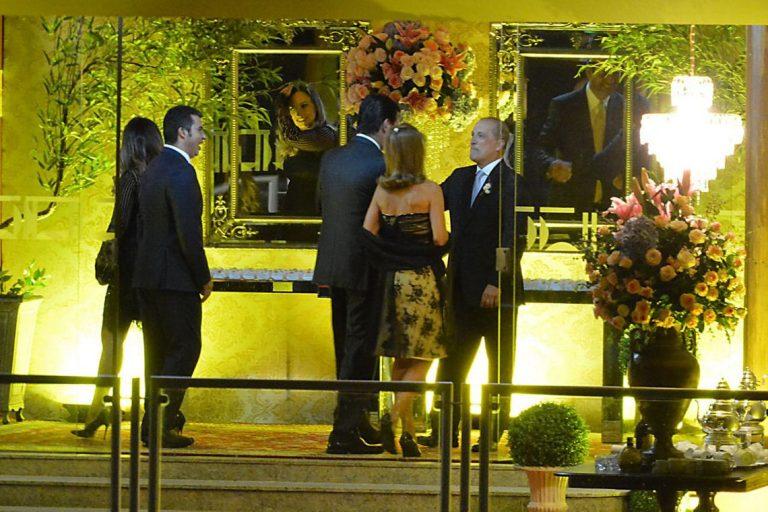 Onyx Lorenzoni e Denise Veberling se casam em Brasília