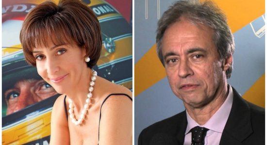 Viviane Senna e Mozart Ramos