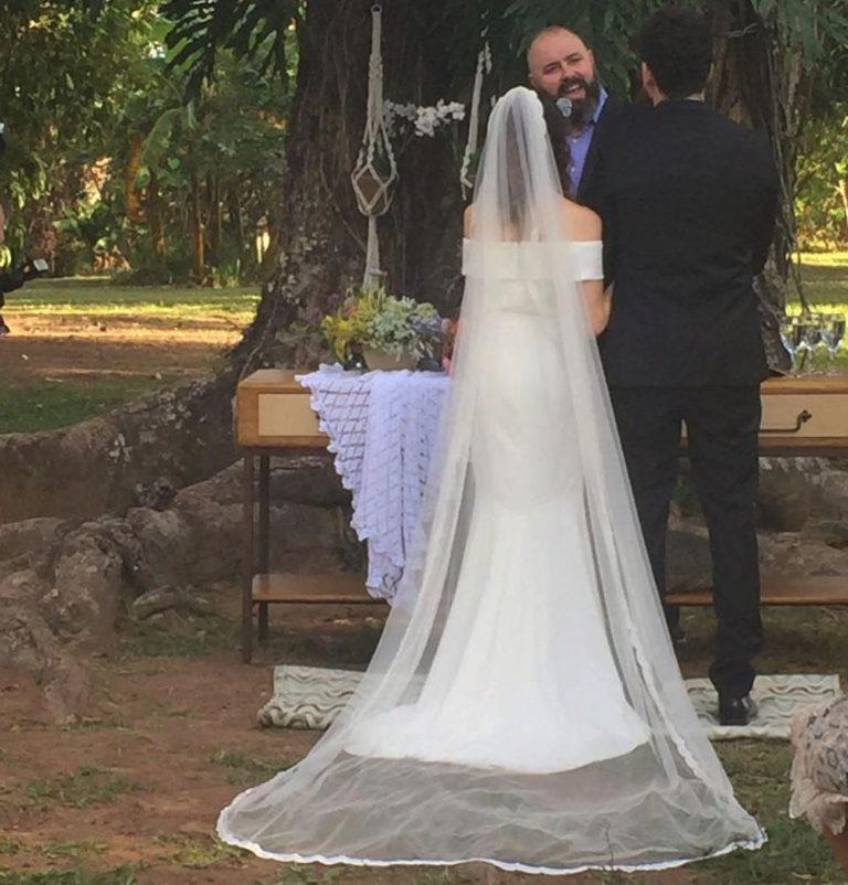 Leonardo Gonçalves e Glauce Cunha se casam em Itu