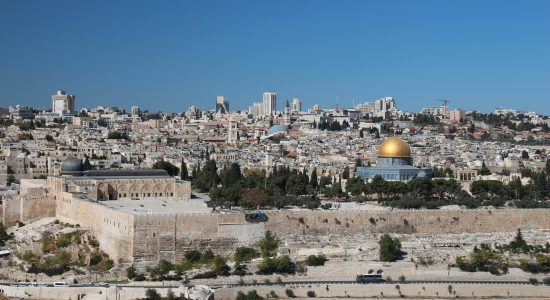 A cidade de Jerusalém