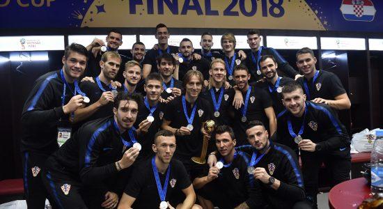 Seleção da Croácia surpreendeu na Copa do Mundo e alcançou medalha de prata