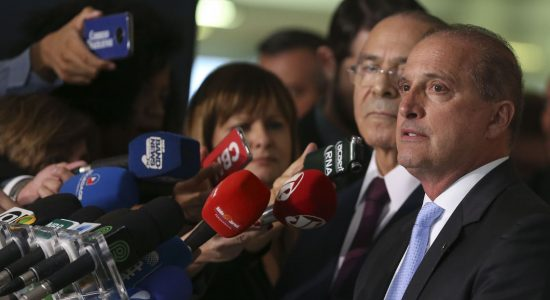 Ministro extraordinário de transição de governo, Onyx Lorenzoni