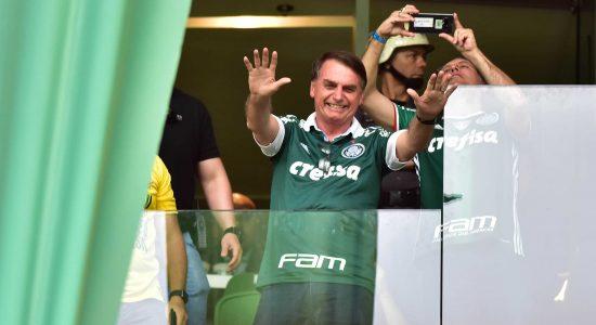 Palmeiras é o time oficial do presidente
