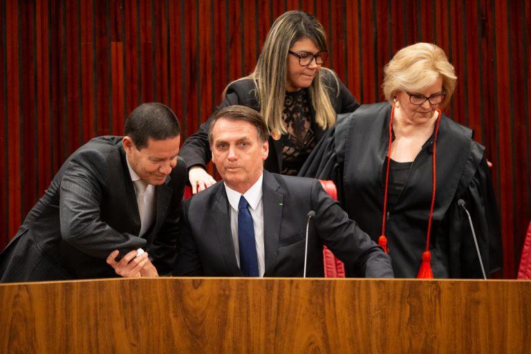 Cerimônia de diplomação do presidente eleito, Jair Bolsonaro