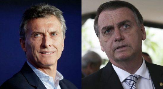 Mauricio Macri acredita que haverá apoio de Bolsonaro em negociação entre Mercosul e UE