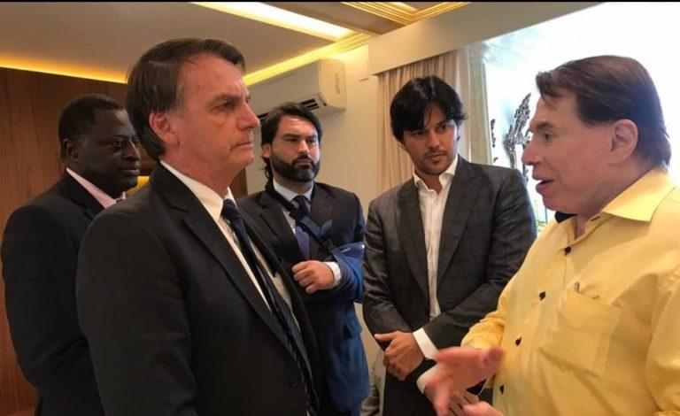 Encontro entre Silvio Santos e Jair Bolsonaro aconteceu em São Paulo