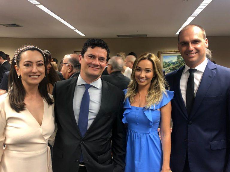 Rosângela e Sergio Moro completam 20 anos de casados