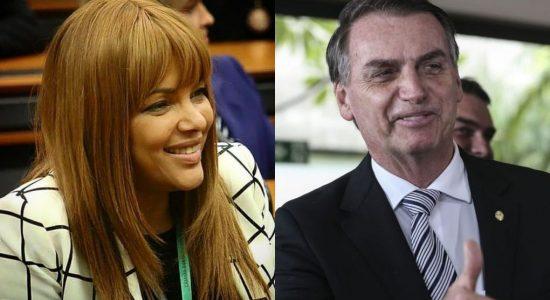 Flordelis participou de encontro com Bolsonaro, em Brasília