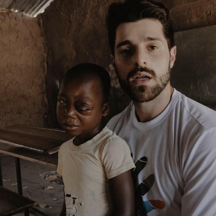 Alok acompanhou a ONG Fraternidade sem Fronteiras no Moçambique