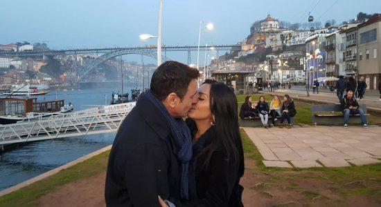 Eyshila e Pr. Odilon Santos comemoram 23 anos de casados em Portugal