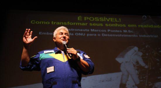 O futuro ministro da Ciência e Tecnologia, Marcos Pontes