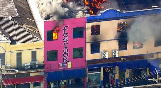 Incêndio na 25 de Março