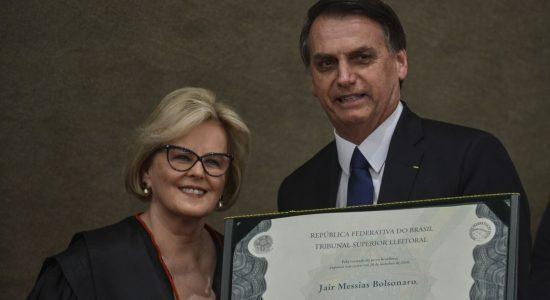 Diplomação de Bolsonaro e Mourão