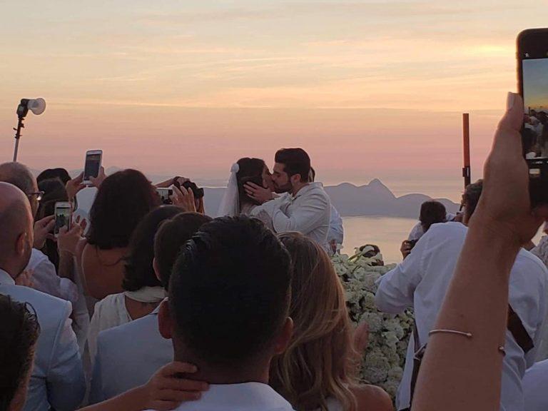 Alok e Romana se casaram ao nascer do sol