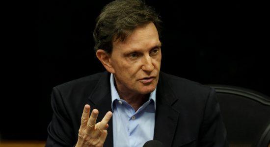 Prefeito do Rio de Janeiro, Marcelo Crivella, é candidato à reeleição