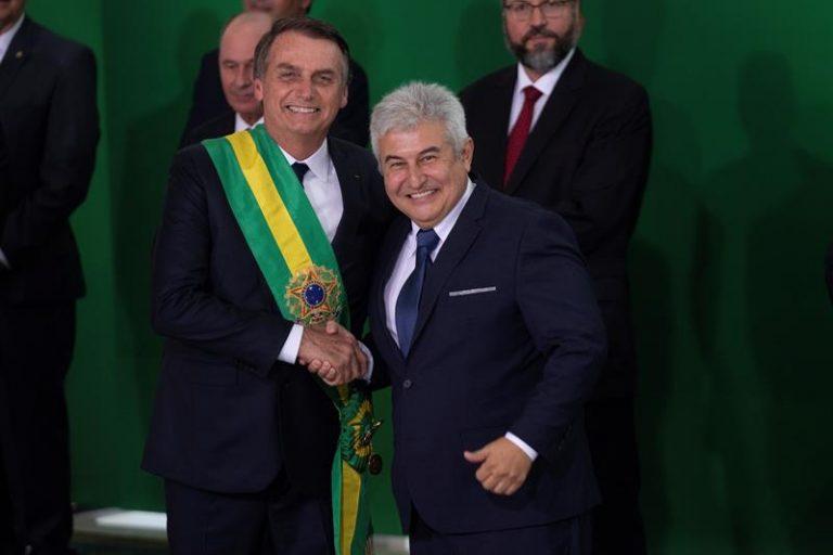 Jair Bolsonaro e Marcos Pontes