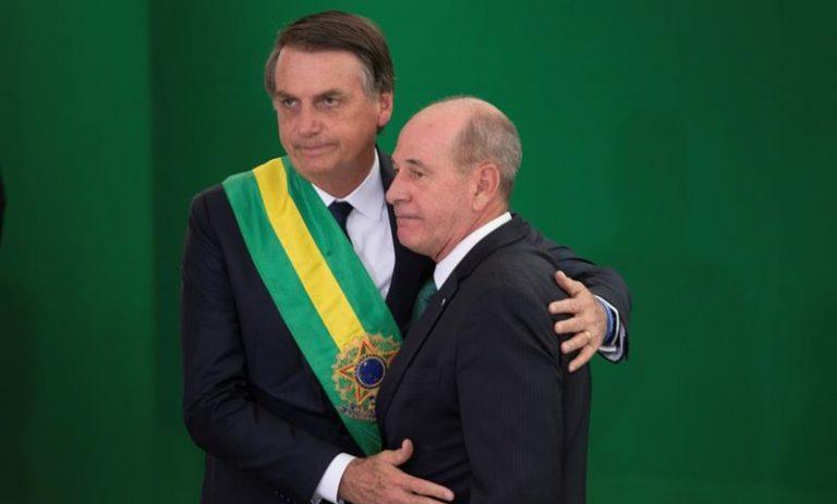 Jair Bolsonaro e general Fernando Azevedo e Silva