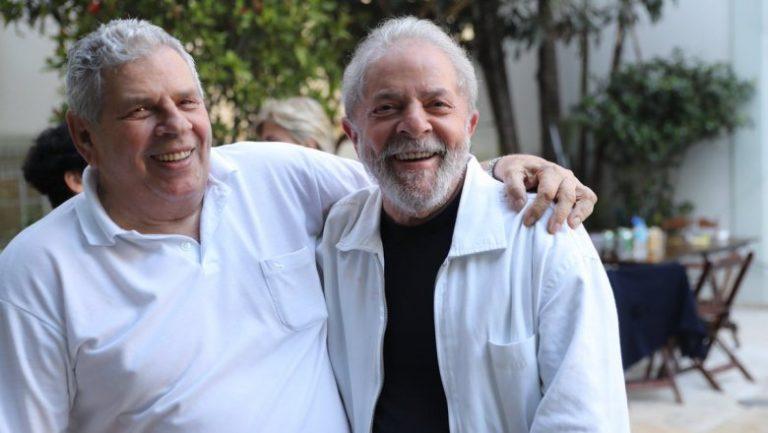Em janeiro, Vavá, irmão de Lula, perdeu a luta contra o câncer