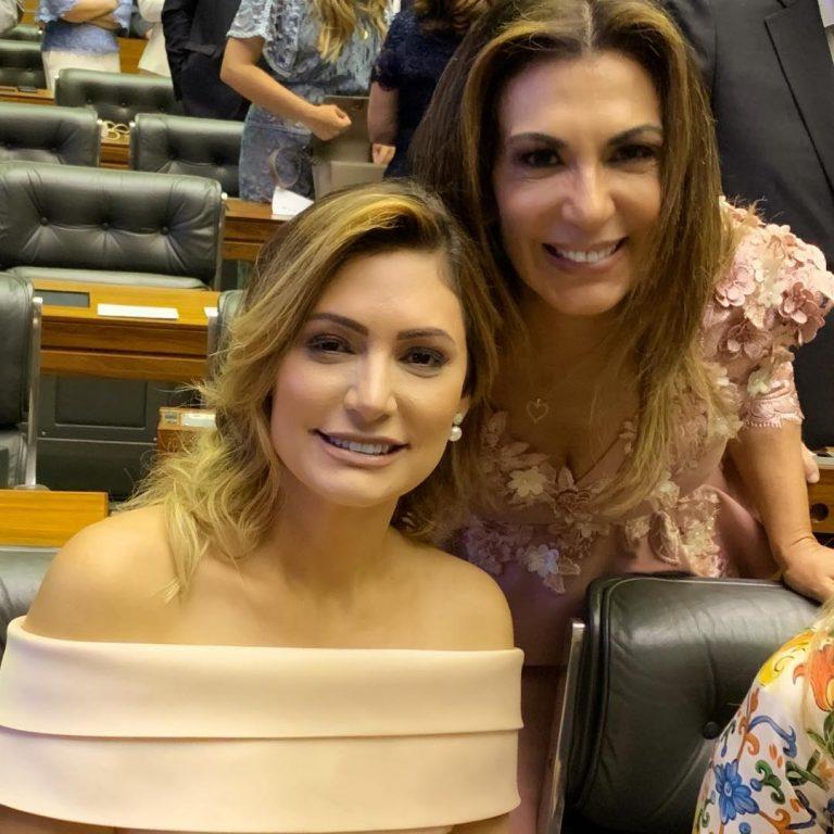 Michelle Bolsonaro e Bispa Sonia Hernandes