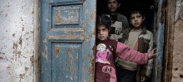 Crianças sírias