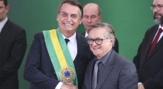 Jair Bolsonaro e Ricardo Vélez