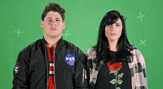 Marcos Freire e Fernanda Brum