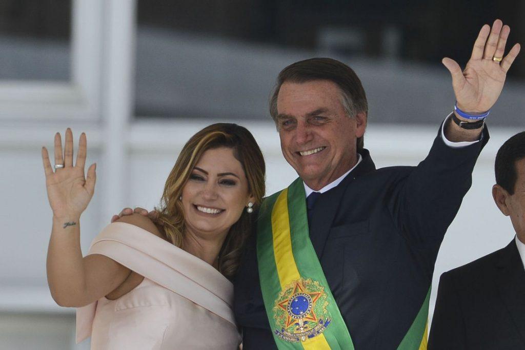 53a747972 Michelle Bolsonaro na posse presidencial Foto  Agência Brasil Marcelo  Camargo