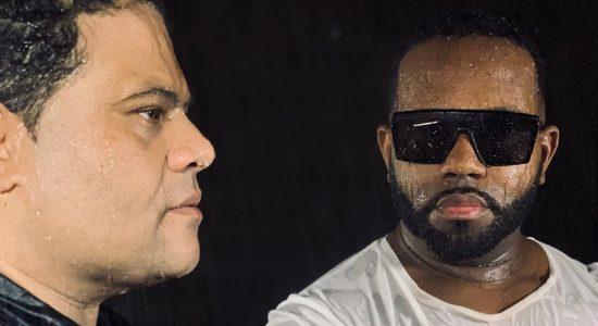 Wilian Nascimento e Jairo Bonfim gravam clipe da canção Previsão do Tempo