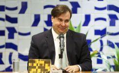 Ex-presidente da Câmara dos Deputados, Rodrigo Maia