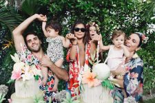 Ivete Sangalo e família