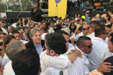 Ernesto Araújo se encontra com Juan Guaidó