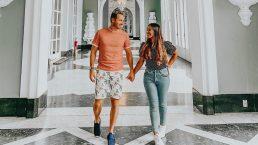 Gabriela Rocha e Leandro Moreira se casaram no início de outubro de 2018