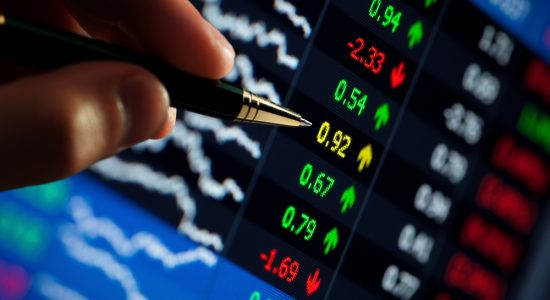 Índica da bolsa de valores