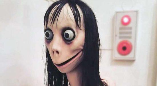Momo aparece em vídeos infantis