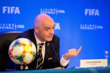 Presidente da Fifa, Gianni Infantino